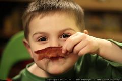 sequoia w/bacon mustache