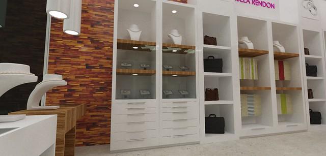 Vitrinas para Joyeria Exhibidores para Accesorios Diseño de Tiendas