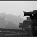 Misty Edinburgh Photograph by Donald Noble