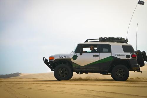 Ivan Wong cruising the dunes