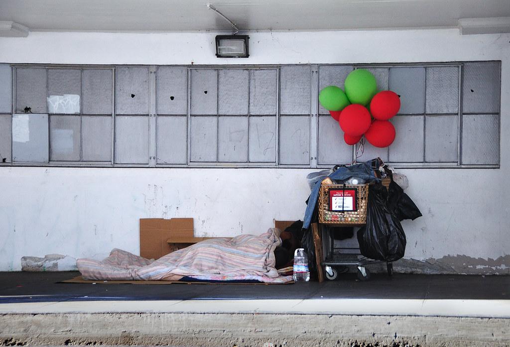 Homeless Couple, San Francisco, 2010