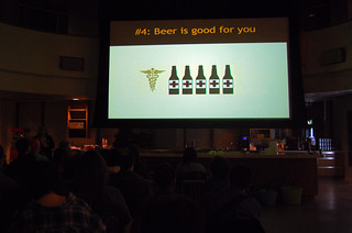 5 Things You Didn't Know About Beer - Sarah Hastings - Ignite Boston 8