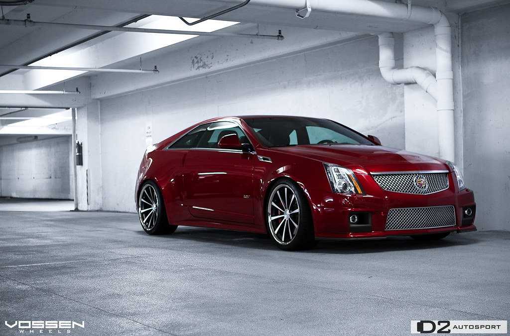 photos of a local dealer cts v coupe on vossen vvs cv1 page 2. Black Bedroom Furniture Sets. Home Design Ideas