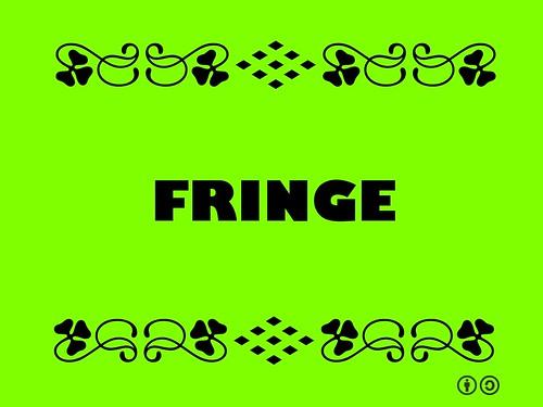 Buzzword Bingo: Fringe