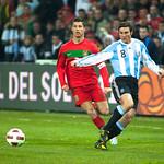 Cristiano Ronaldo: Cristiano Ronaldo et Javier Zanetti