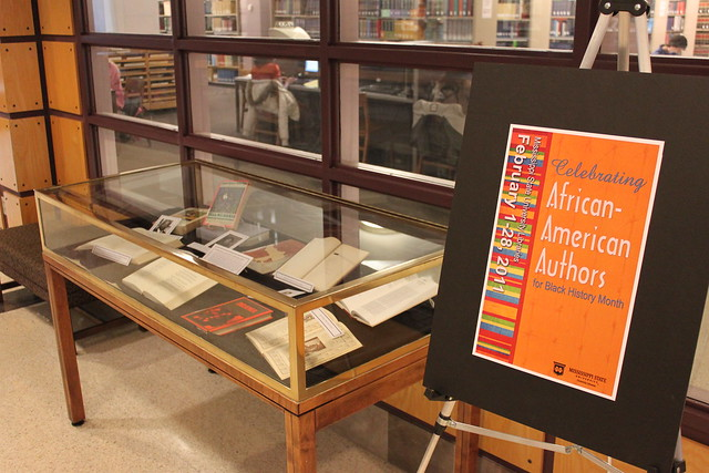 African American Literature Display