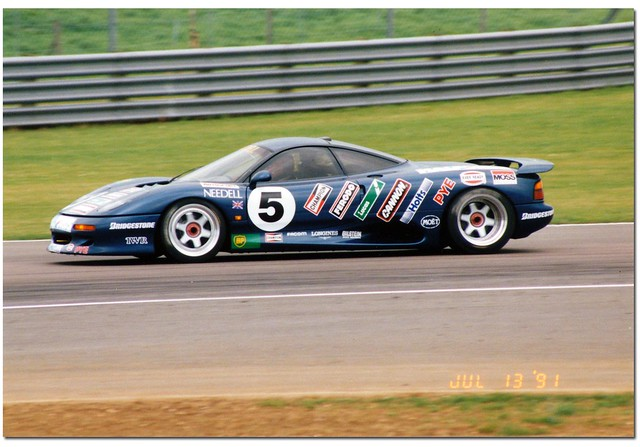 Tiff Needell Jaguar XJR-15 Sportscar. XJR-15 Intercontinental ...
