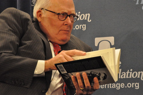 Heritage foundation president Edwin Feulner