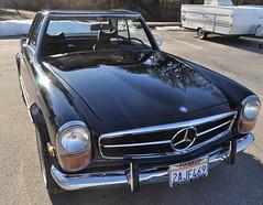 1971 Mercedes SL 280 Pagoda