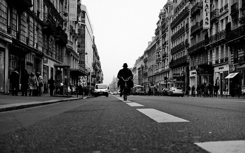 The Black Rider, Montparnasse - Paris