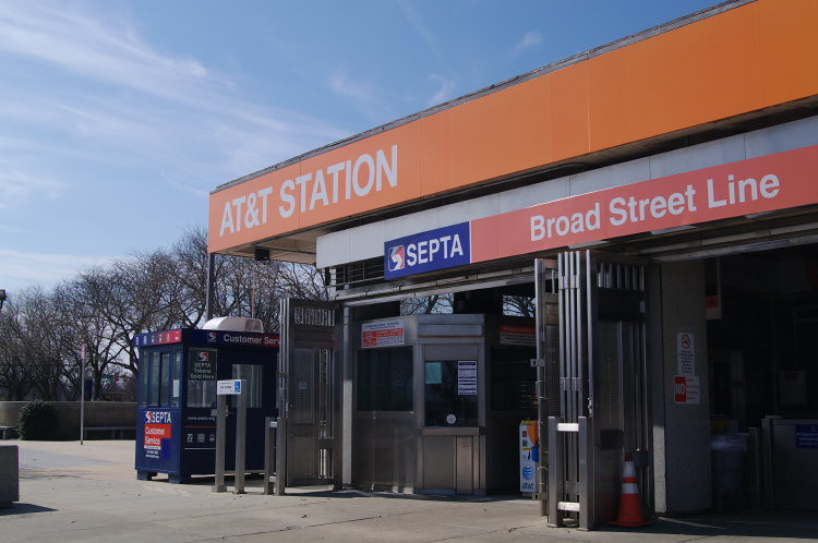 AT&T Station in Philadelphia, PA (formerly Pattison Station)