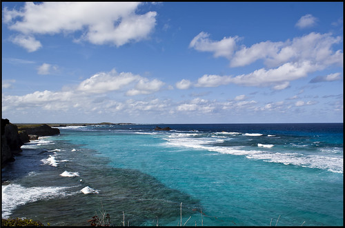 ocean cliff beach landscape islands paradise waves harbour sony atlantic alpha middle turks caicos turqoise a300 mudjin