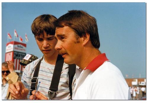 Nigel Mansell. British GP Silverstone 1983