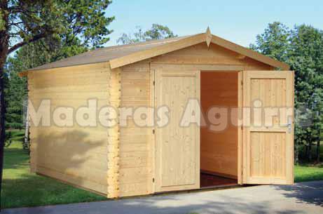 Maderas aguirre llamanos casetas de madera caseta de for Casetas madera para jardin