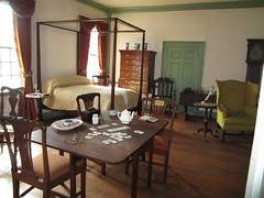 Morristown National Historical Park - Washington's Headquarters interior of Ford Mansion
