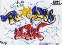 Imagenes te amo graffitis - Imagui