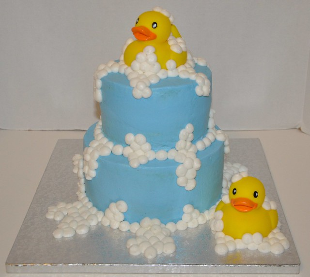 Rubber Duck Baby Shower Cakes http://www.flickr.com/photos/christyspieceofcake/5512506082/
