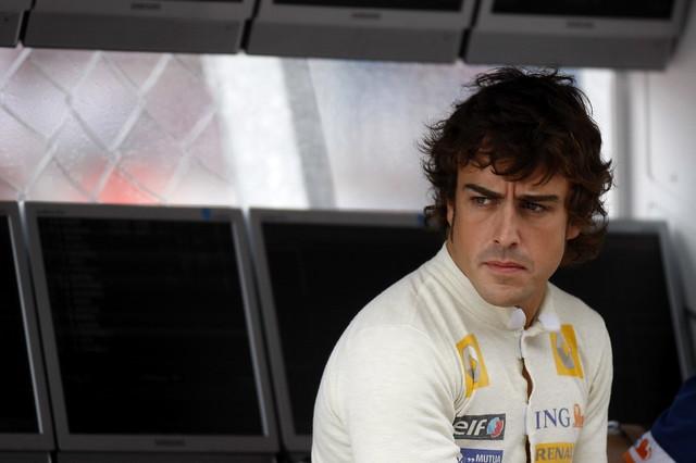 Fernando Alonso Renault (2008-2009)