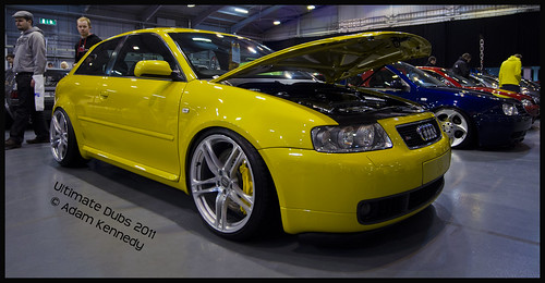 Yellow Audi @ UD 11