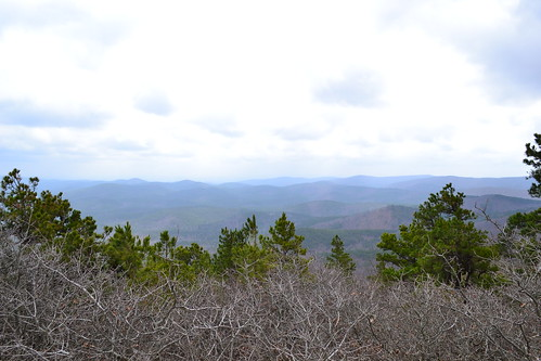 sit on top of buck knob in oucahita national fores…