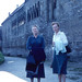 Bad Wimpfen - Mother and Marguerite at Kaiserpfalz