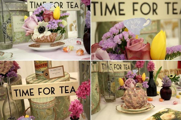Afternoon tea party wedding theme all wedding table for Afternoon tea decoration ideas