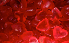 heart, red, sweetness, gummi candy, macro photography, produce, food, close-up, valentine's day,