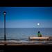 contemplando la superluna / looking at the super-moon