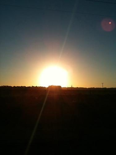 Sunset over Belvedere Penninsula