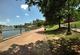 riverwalk view