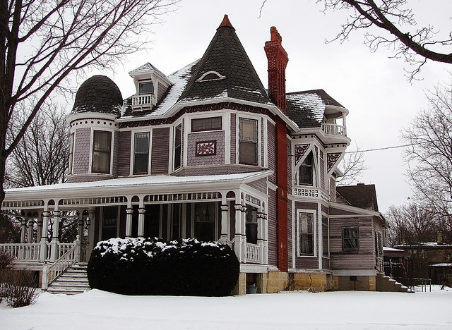 Queen Anne Style House Flickr Photo Sharing