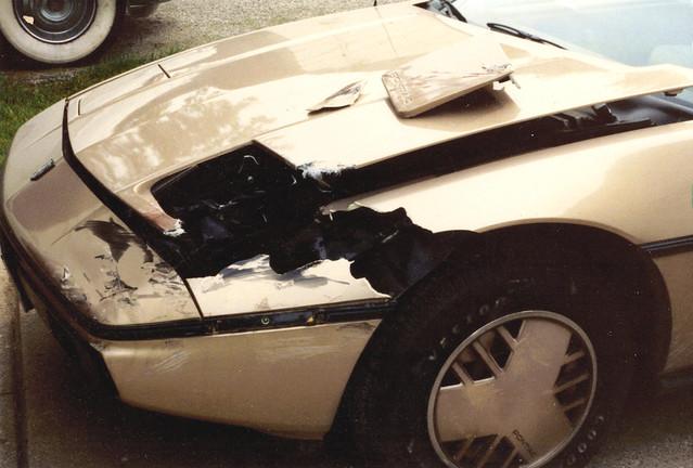 1986 Pontiac Fiero 2m4 Carnage