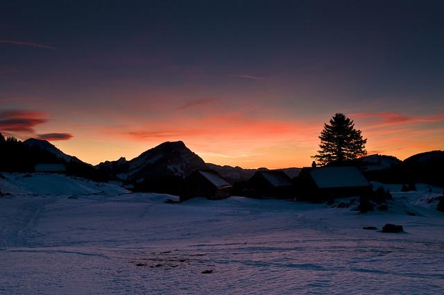 Schwägalp Sunset