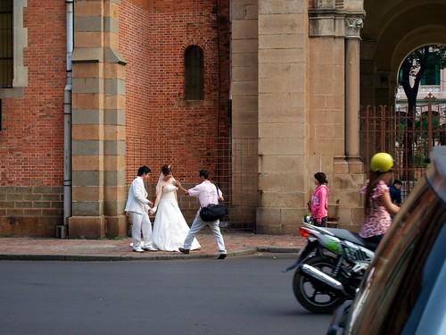 New weddings at Saigon Notre-Dame Basilica