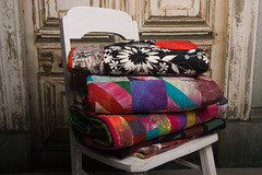 Quilts on a Chair