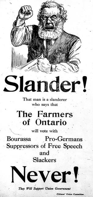 Vintage Ad #1,417: Slander!