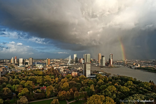 Code red / Weather alarm / Rotterdam / Euromast