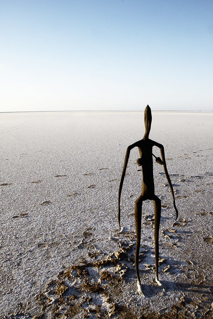 Inside Australia by Antony Gormley