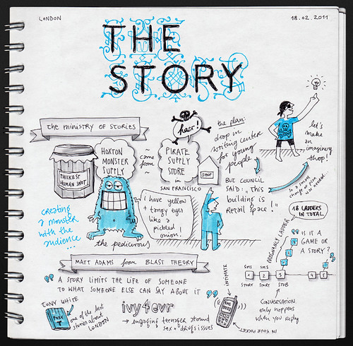 The Ministry of Stories & Matt Adams @ The Story 2011