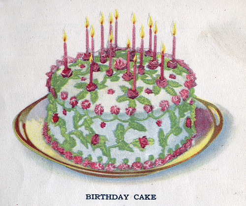 Birthday Cake Images Down : Tattered and Lost EPHEMERA: SWANS DOWN CAKE FLOUR vintage ...