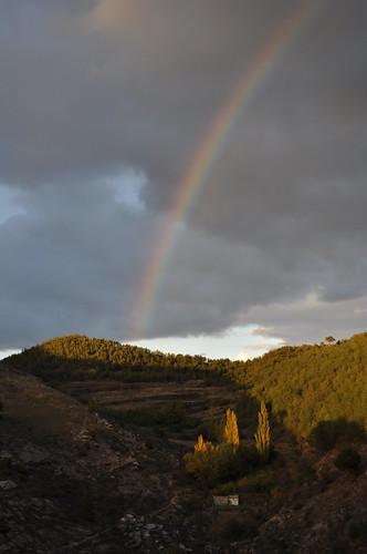 Arcoiris en Torrijas