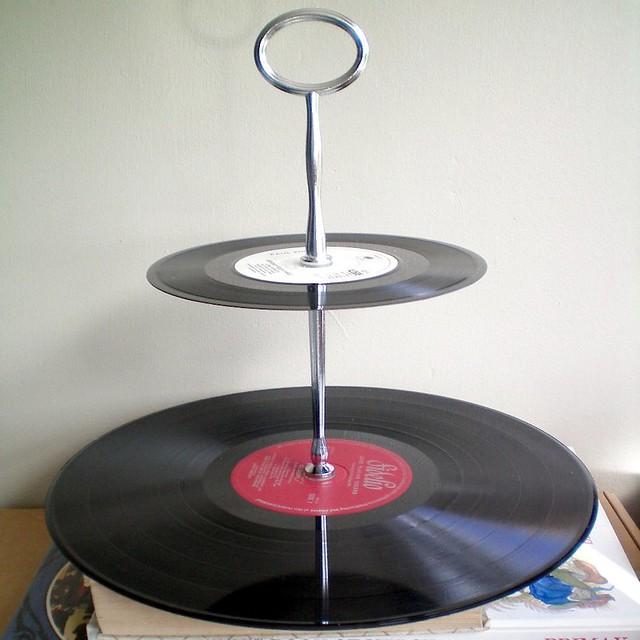Cake Stand Vinyl Records