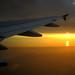 Pemandangan diatas Pesawat