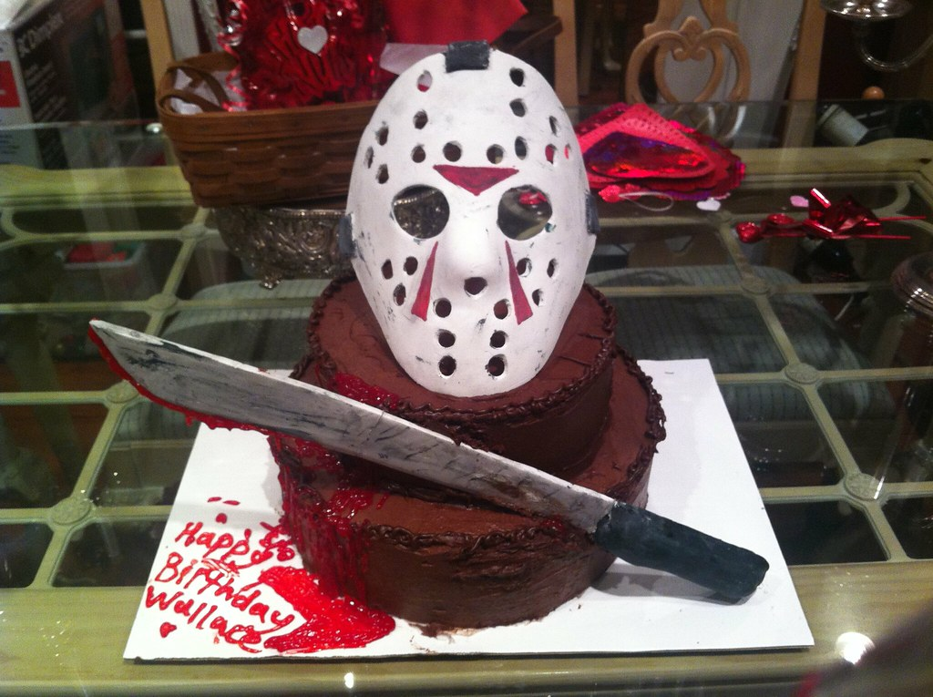 Friday The 13th Birthday Cake A Photo On Flickriver