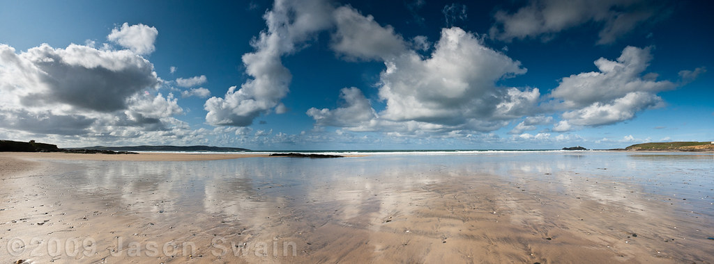 West Cornwall Cumulus Colic Panoramic Monday Blues