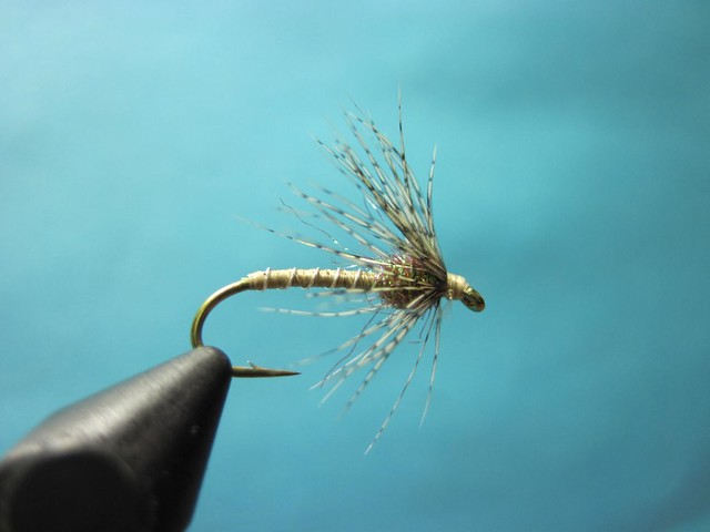 March brown ice dub soft hackle wet fly the caddis fly for Ice fishing flies