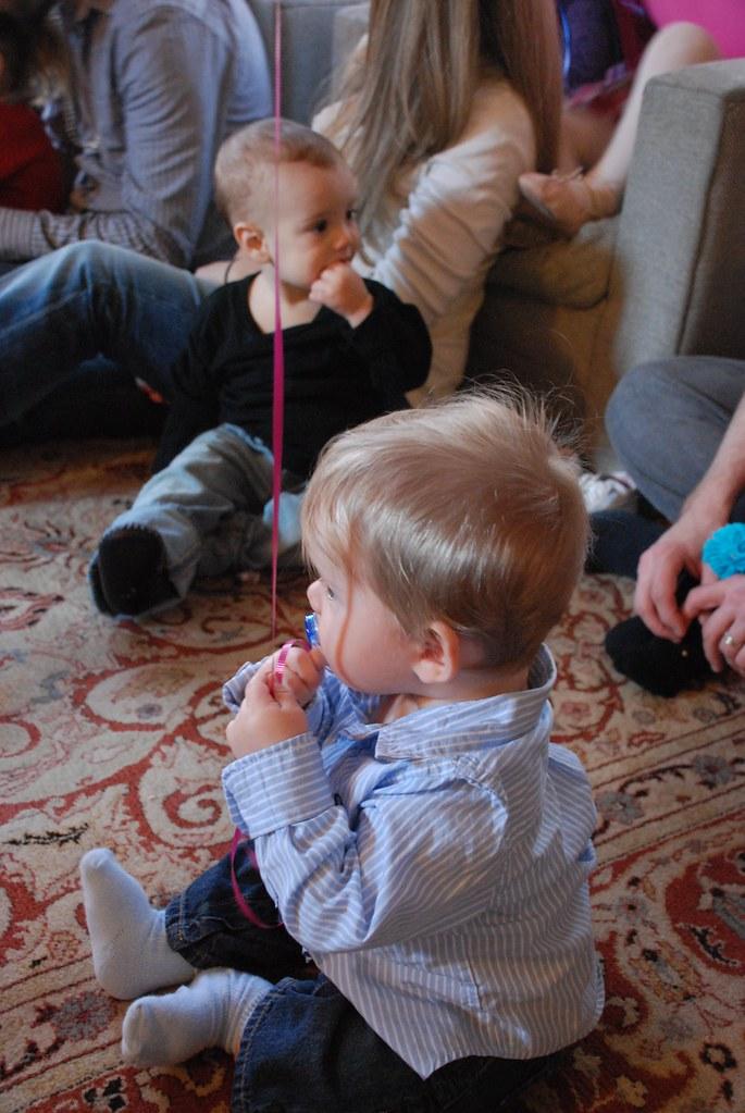 Everett Watches The Puppet Show