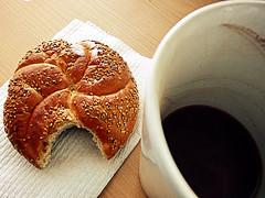 Morning coffee...more like hot chocolate.