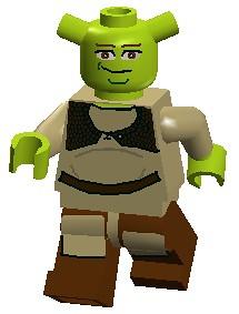 Lego shrek the video game