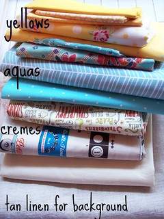 inspiration fabrics for bee hexed in